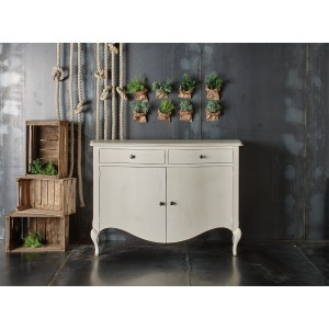 Shaped Sideboard  with 2...