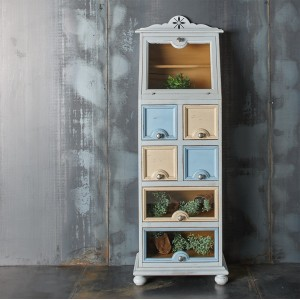 Pantry cabinet with flap...
