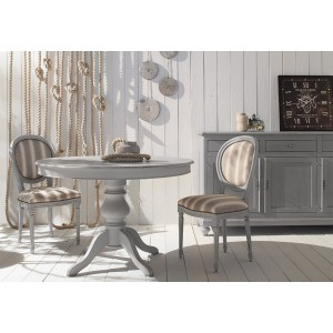 Extendable round table 637
