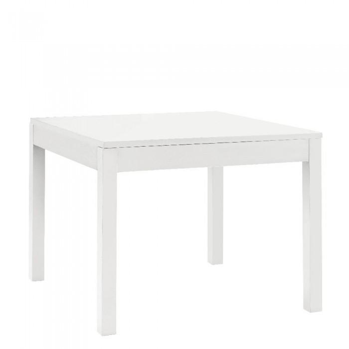 Tavolo Bianco 80x80 Allungabile.Tavolo Fisso Scicli Y Bianco Opaco 80 X 80