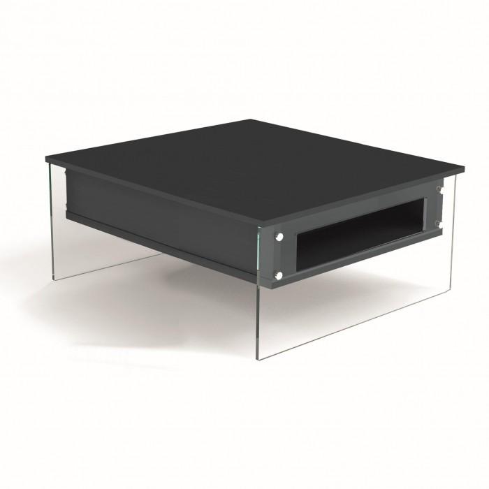 Tavolo Rettangolare Che Diventa Quadrato.Tavolino London Q