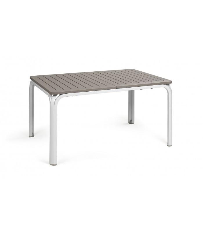 Tavoli Da Esterno Plastica Allungabili.Tavolo Rettangolare Allungabile Plastica E Alluminio Per Esterni