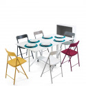 ARCHIMEDE NEW + 6 CHAIRS