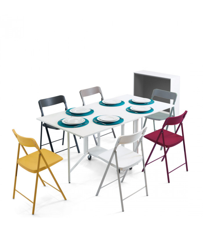 ARCHIMEDE NEW + 6 CHAIRS ZETA