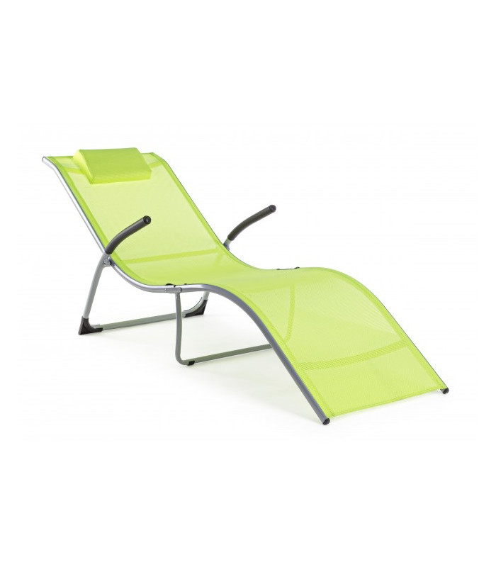 CHAISE LONGUE C-BR SCOTT LIME