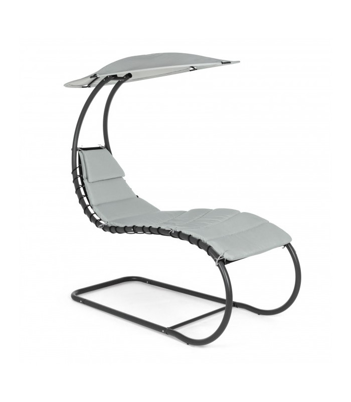 CHAISE LONGUE LARRY GRIGIO CH