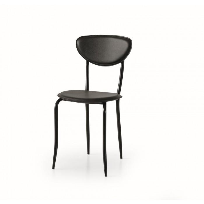 Sedie In Ecopelle Colorate.Sedia Minimal Art 679 Imbottita Ecopelle