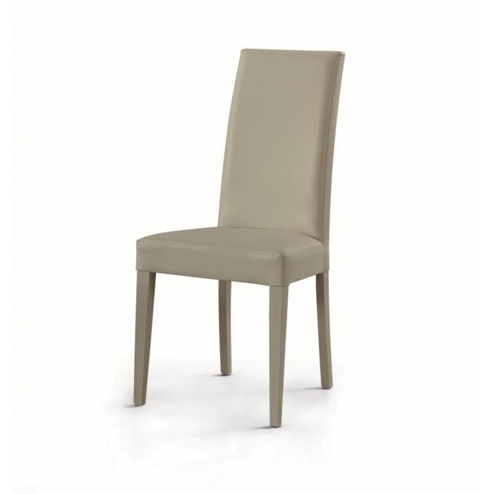 Sedie In Ecopelle Colorate.Sedia In Ecopelle Imbottita Arredinitaly