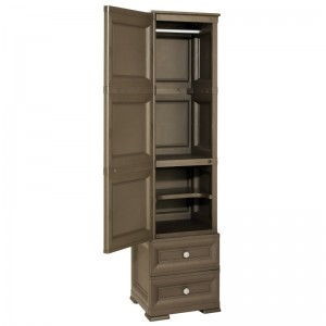 COLUMN CABINET WITH HANGER