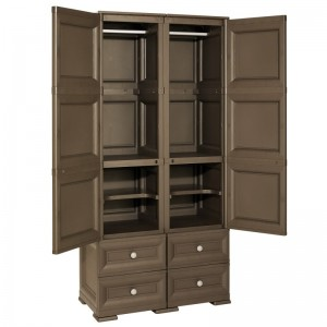 2 DOORS WARDROBE WITH...
