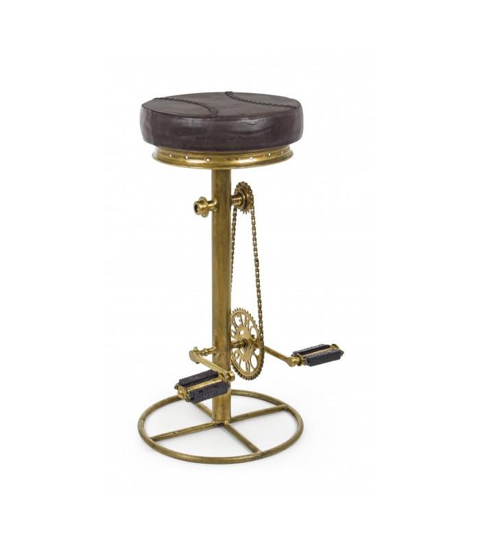 SGABELLO BAR CYCLE ORO H80