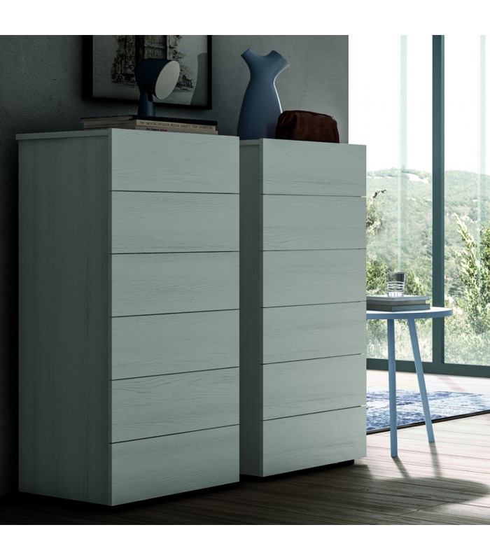 Dado chest of 6 drawers