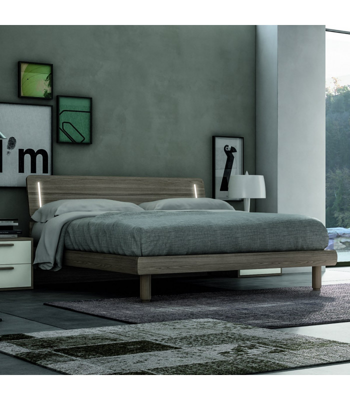Vela bed with led