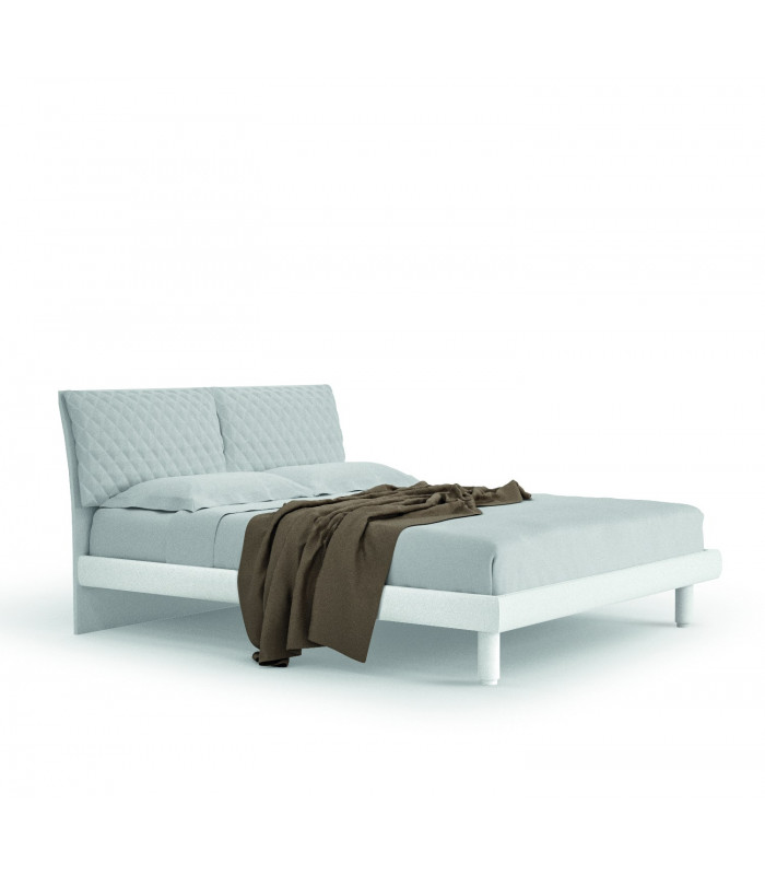 FOHN bed with padded cushions