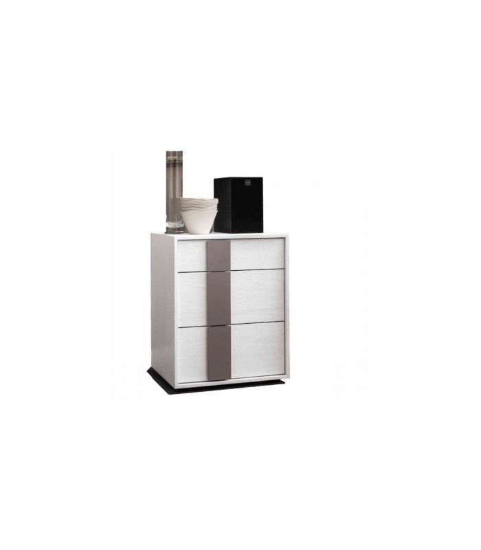 QUADRO 12 BEDSIDE WITH DRAWERS
