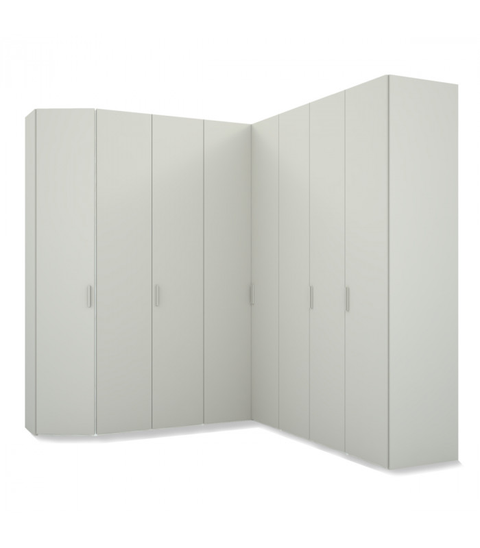 CORNER HINGED WARDROBE WITH...