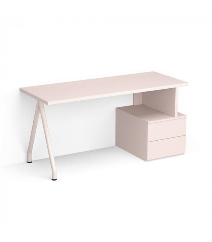 DESK WITH LOW DRAWER