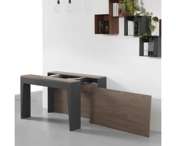 Consolle allungabili che diventano solidi tavoli per 12 persone, qualità garantita Arredinitaly