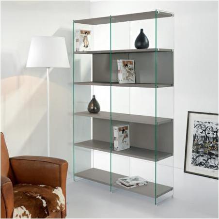 Librerie in legno, vetro o metallo. Online da Arredinitaly