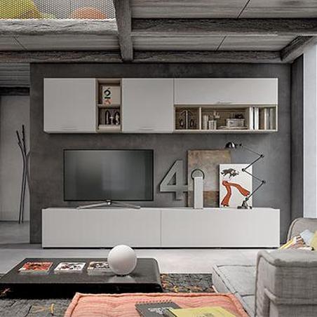 Pareti soggiorno, librerie e madie su misura per te. Acquisti sicuri da Arredinitaly
