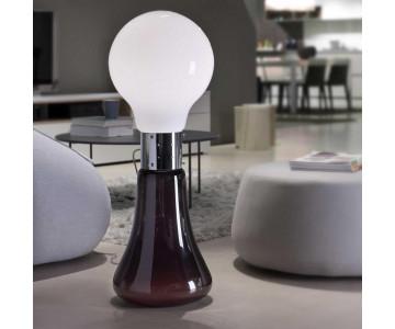 Lampade a terra e d'arredamento in vetro soffiato e non solo. Qualità certificata.