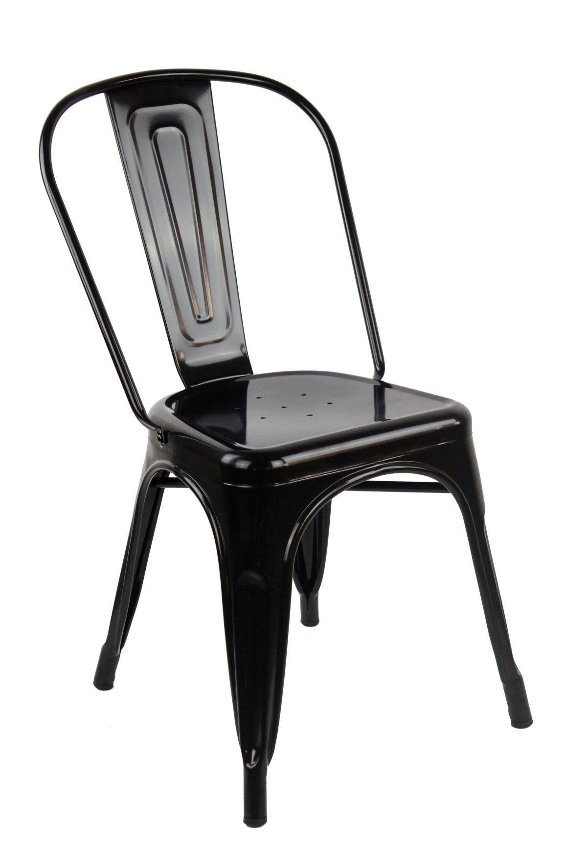 Sedia in acciaio CHAISE A, Tolix replica - Arredinitaly