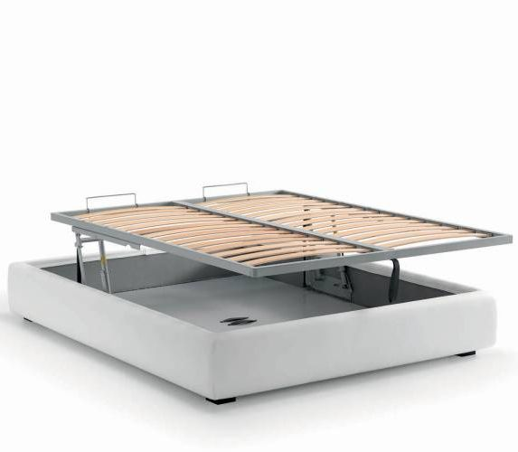 Bed base with RISE mechanism