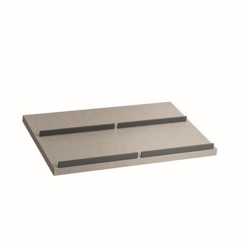 Thk.35 Wooden Incliend shelf for Shoe L.42,9